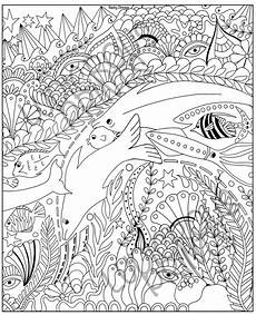 coloring pages for adults sea animals 17312 colouring pages for adults coloring doodle sealife calm etsy