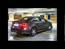 vossen wheels cv7 tuning audi s3 limousine