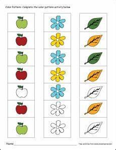 color patterns worksheets 53 printable color pattern worksheets for preschools