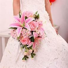 costo fiori aliexpress buy new arrival pink ivory silk