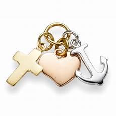 Ausmalbilder Glaube Liebe Hoffnung Anh 228 Nger Glaube Liebe Hoffnung Aus 750 Gold Gelb Wei 223 Rot
