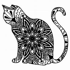 Ausmalbilder Katzen Mandala Ausmalbilder Tiere Katzen Mandala Kinder Ausmalbilder