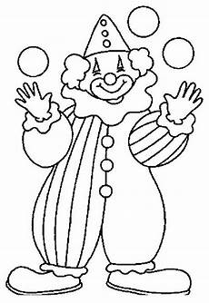 clown coloring pages for kids coloring worksheets 4