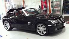 chrysler crossfire cabrio chrysler crossfire convertible bart testing roof operation