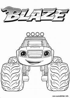 Malvorlagen Blaze Und Die Maschinen Blaze Und Die Maschinen Malvorlagen