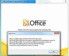 unable to install office 2013 microsoft office professional plus 2010 setup is unable to