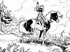 yakari 2 coloriage de yakari le petit indien