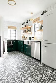 11 patterned kitchen floors that got it so right houseandhome ie