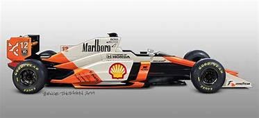 Classic F1 Cars Given Futuristic Redesign  McLaren MP4/5