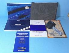 free service manuals online 2001 volvo s80 electronic valve timing 01 2001 volvo s80 owners manual ebay