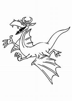 ausmalbild fr 246 hlicher fliegender drache kostenlos ausdrucken