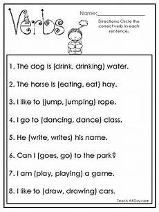 10 choose the correct verb printable worksheets in pdf