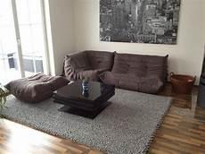 ligne roset togo sofa in alcantara farbe string in m 252 nchen
