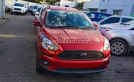Ford Freestyle Ruby Red Spotted At Dealership Launch Soon