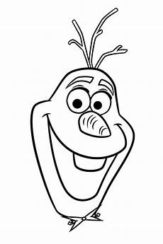 frozen snowman olaf coloring page get coloring pages