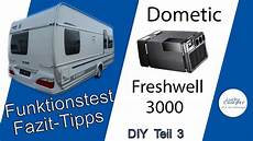 dometic freshwell 3000 funktionstest fazit tipps diy
