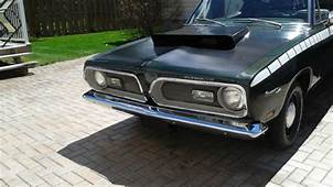 1969 Plymouth Barracuda Fastback 52L Magnum Fuel Injected