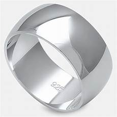 solid sterling silver s mens unisex wedding band ring comfort 2 10mm sizes 2 16 colors