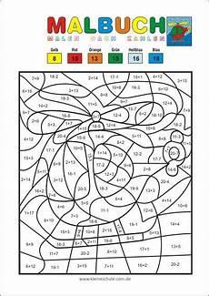 Ausmalbilder Mathematik Grundschule Malen Nach Zahlen Addieren Und Subtrahieren Im