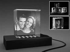 cadre photo en verre 3d gravure de votre propre photo en