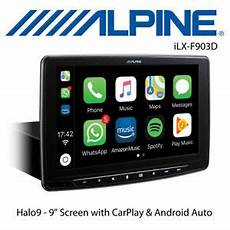 alpine ilx f903d halo9 single din 9 quot screen dab with