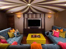 add style to your finished basement hgtv