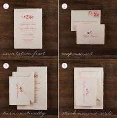 How To Assemble Wedding Invites merry brides how to assemble a wedding invitation