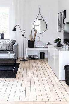 Home Decor Ideas Black And White by 20 Rooms With Wooden Floors Messagenote