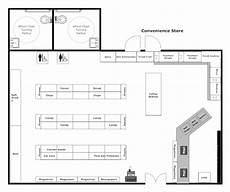 exle image convenience store layout store layout supermarket design store plan