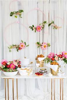 a southern inspired bridal shower and diy backdrop by