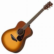yamaha fs800 acoustic guitar sandburst at gear4music