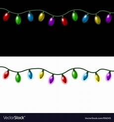 christmas lights royalty free vector image vectorstock