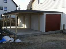 Carport Garage Kombination Holz - fertiggarage garagen carport kombination 1