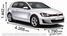 Volkswagen Golf Size Auto Magazine