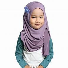 Jilbab Pashmina Instan Untuk Anak Voal Motif