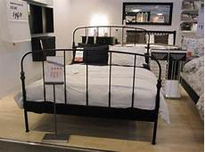 Ikea Black Metal Bed Frame Lillesand Collection E14