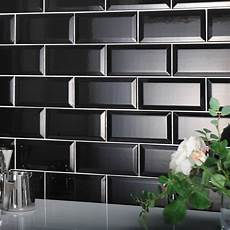 Metro Black Bevelled Tile The Tile Outlet Belfast Newry