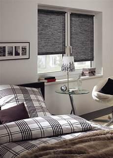 rollo wohnzimmer sommerlicher waermeschutz fenster schlafzimmer rollo