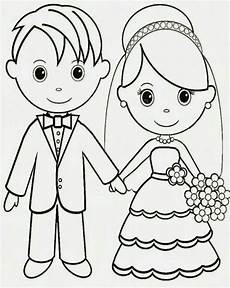 Malvorlagen Gratis Hochzeitspaar 34 Besten Hochzeit Kinder Bilder Auf