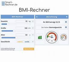 bmi rechner mit bewertung ihres gewichts