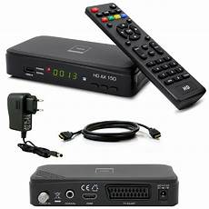 Hd Digital Receiver Kabel - hdtv hd digital sat receiver opticum ax 150 hdmi