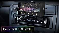 Pioneer Sph 10bt Audi A4 B5 Headunit Upgrade And Wiring