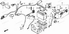honda parts diagram honda motorcycle 1987 oem parts diagram for wire harness partzilla