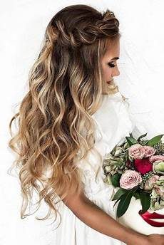 33 wedding hairstyles with hair down wedding forward