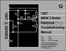1987 Bmw 325 Electrical Troubleshooting Manual 325i 325e