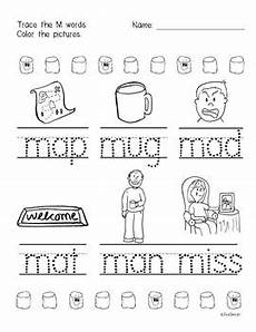 letter m worksheets for pre k 23713 beginner reading no prep worksheets letter m prek k by joliedesign