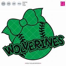 wolverines baseball softball bundle svg dxf eps png cut files lollar designs