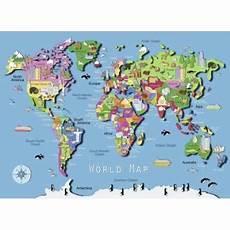carte du monde fnac puzzle 60 pi 232 ces carte du monde ravensburger achat