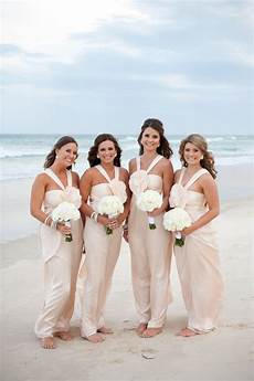 hawaii weddings beachy bridesmaid dresses