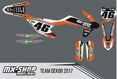 Mx Shop Rhein - mx shop team dekor kit 2017 ktm mx shop rhein